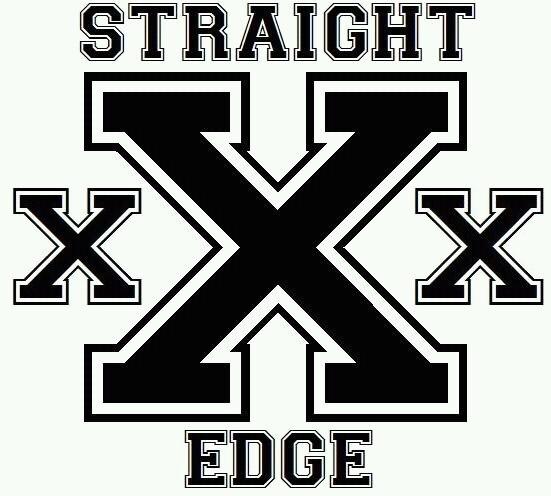 Straight Xxx Edge White Socks